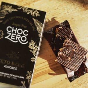 choczero keto bark keto friendly chocolate