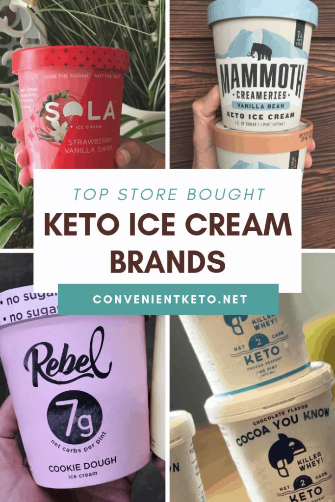 keto friendly ice cream brands