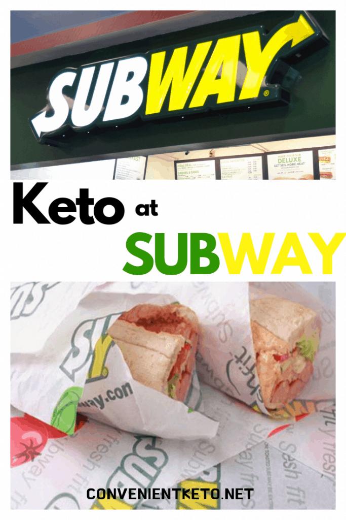 ketogenic subway keto diet