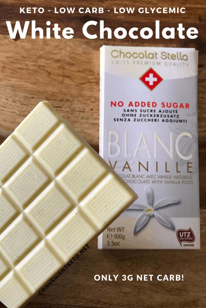 keto white chocolate