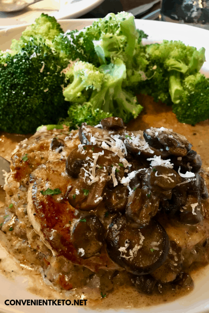 olive garden low carb