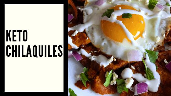 EASY Keto Chilaquiles – A Keto Mexican Food Recipe!