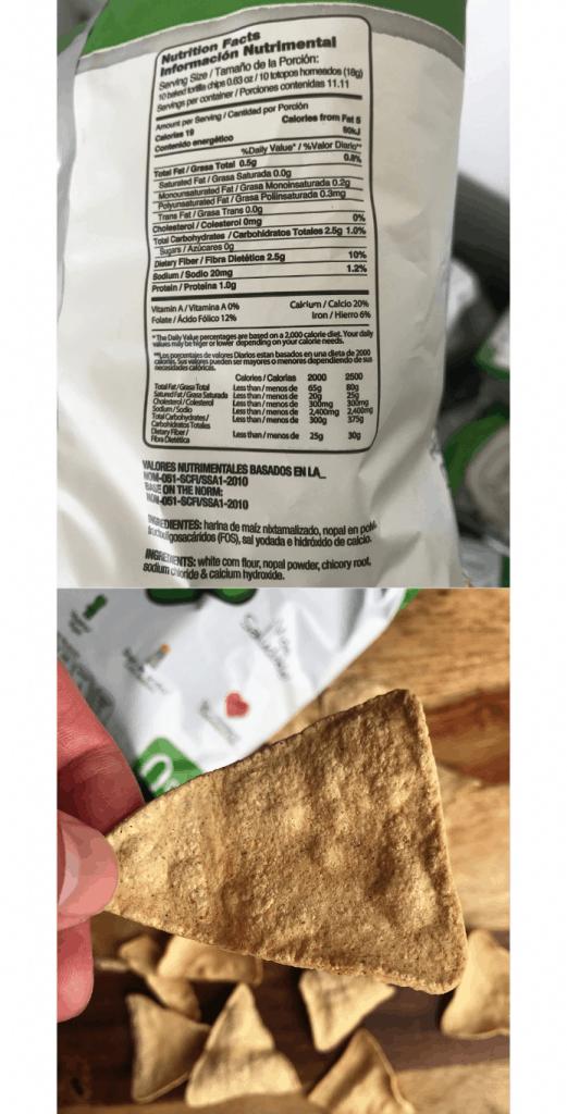 keto corn tortilla chips