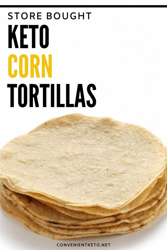 keto low carb corn tortillas