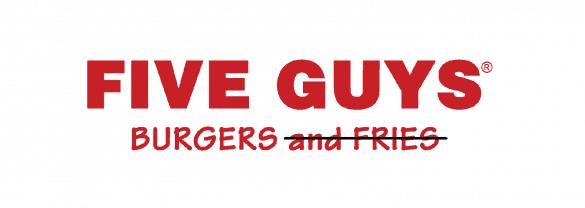 keto five guys burgers no fries